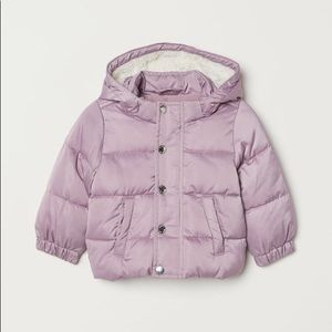 Padded jacket 6-9m from h&m